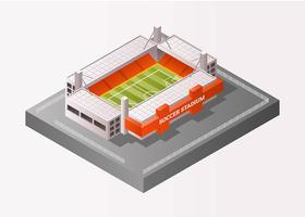 Isometric Football Stadium