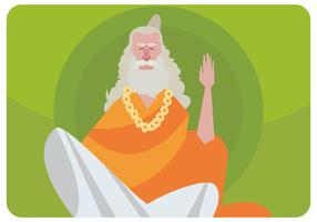 Guru Illustratie Vector