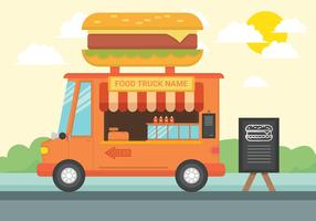 Food Truck vectorillustratie vector