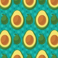 Avocado Pattern Background