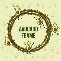 Avocado Character Frame