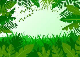Vettore di sfondo tropicale