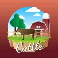 Cattle Illlustration Vector