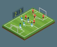 Isometrischer Fußball