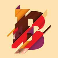 letter B typography