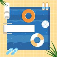 Vector Summer Vacation Design Illustration