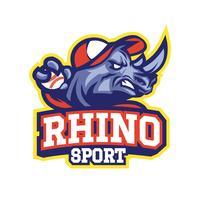rhinocéros de baseball