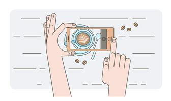 Coffee Art Vector