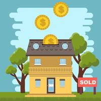 Real Estate Listing vector