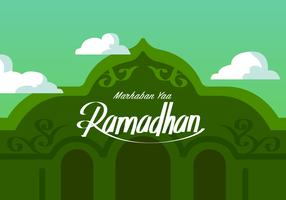 Ramadhan Is Near Vector