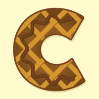 Letter C Typography