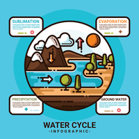 Watercyclus Infographic