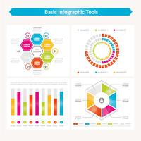 Conception de modèle infographique de vecteur