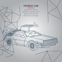 Carro futurista