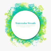 Vector Watercolor Decoration