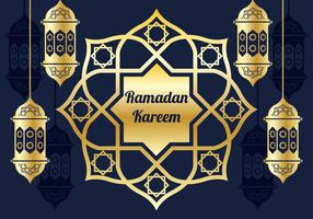 Ramadan Kareem Background Vector