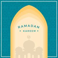 Flat Ramadan Vector Illustration