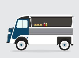 Isolated Food Truck