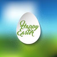 Fondo de huevo de Pascua