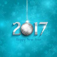 Fondo de año nuevo adorno