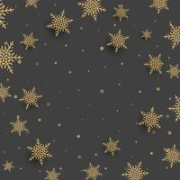 Fondo de copo de nieve de Navidad