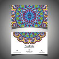 Kleurrijk visitekaartje