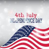 Fundo da bandeira americana