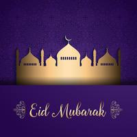 Fond d'Eid Moubarak