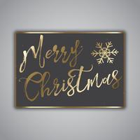 Design de cartão de Natal estilo grunge