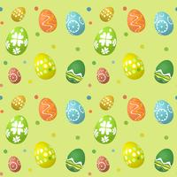 Seamless tile Easter egg background