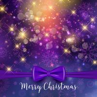 Christmas ribbon background  vector