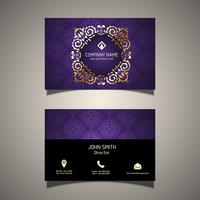 Decorative business card