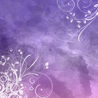 Floral watercolour background 0801 vector