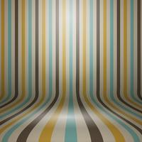 Vintage striped curved display background