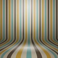 Sfondo di visualizzazione curvo a strisce vintage