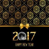 Dekorativer guten Rutsch ins Neue Jahr-Hintergrund