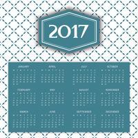 Mönster kalender bakgrund