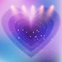Fond coeur abstrait