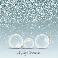 sfondo di palline di Natale 3009