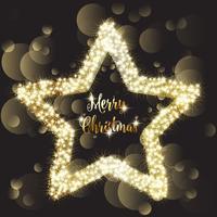 Kerst schitteren ster