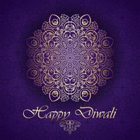 Decorative background for Diwali