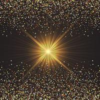Gold Konfetti Hintergrund