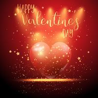 Alla hjärtans dag hjärta bakgrund