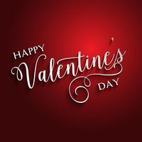 Decorative Valentines Day text design