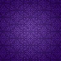 Purple damask pattern background vector