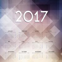 Calendrier conçu pour 2017