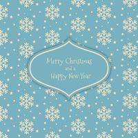 Weihnachten Schneeflocke Muster