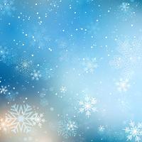 Jul snöflinga bakgrund