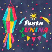Watercolor-festa-junina1