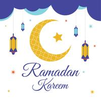 Ramadan Kareem Bakgrund Vector